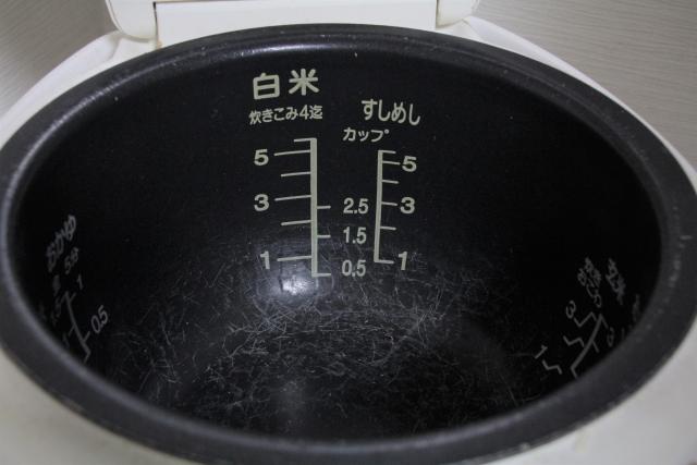 炊飯器のお釜